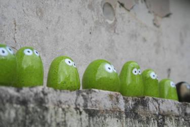 Nubbin lineup by kay-of-doom