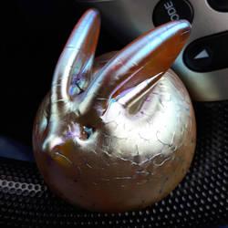 Fat Golden Bunny by kay-of-doom