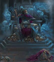 Lord Soth - Dragonlance Fanart by LadyLoth