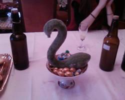 A swan-like zucchini by babbuleone
