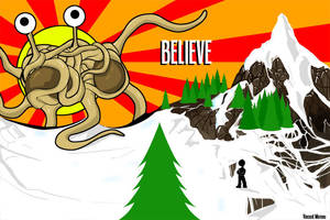 Flying Spaghetti Monster by Deviant-Care