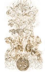 The Tree of Life-Sketch by DarkMousysMinion