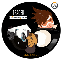 Tracer from Overwatch by michelledh
