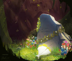 Asriel Dreemurr - Illustration Friday #4 by duh-veed