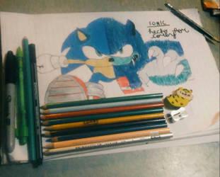Sonic by Beloved-Star