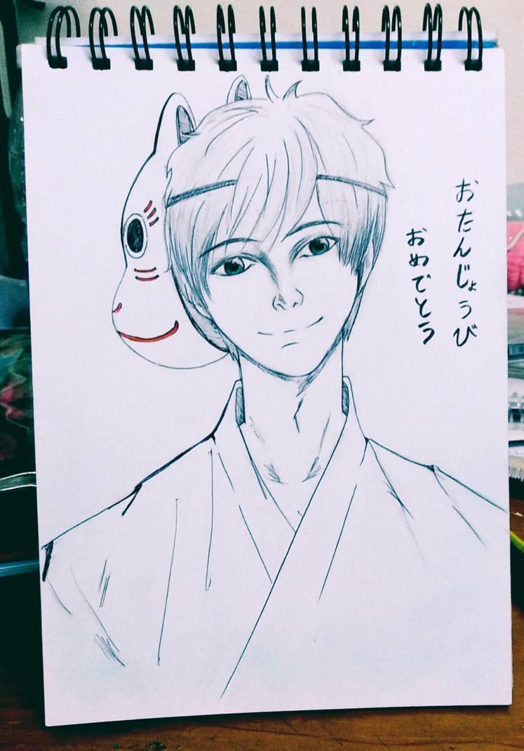 Hotarubi no mori: Gin by Beloved-Star