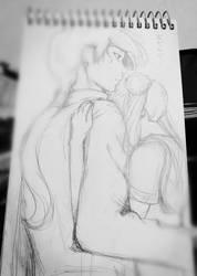 Seiya+Usagi: So tired by Beloved-Star