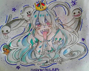 Draw#23- Princess King boo (Boosette) by DARKNEBULA85