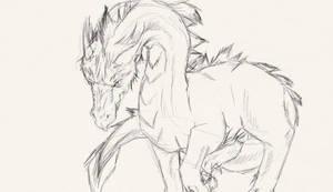 Dragon by Lexadre