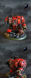 Blood Angels Dreadnought by SoulRebel9