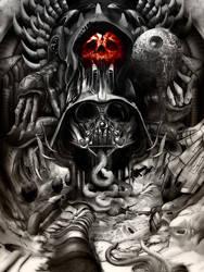 Giger Vader by jimiyo