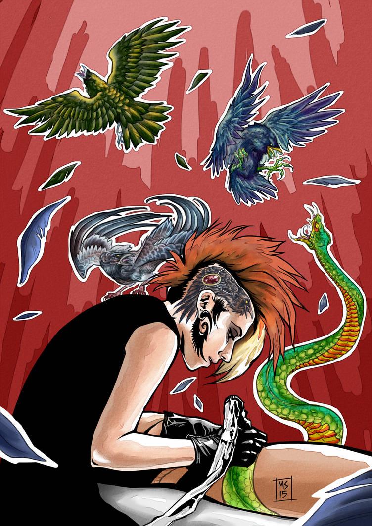 Teresa Sharpe by ArtistMeli