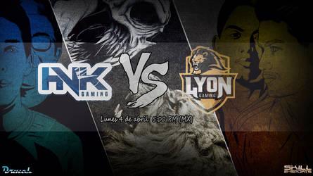 HVK VS LYON Final Copa Latam 2016 by Indiotoons