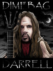 Dimebag Darell by Indiotoons