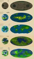 Sol System- Inner Orbital Worlds by VincenzoNova