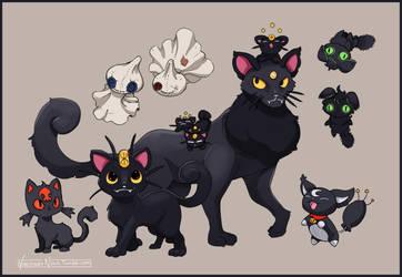 Shadow, the Black Meowth by VincenzoNova