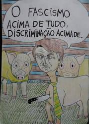 Bolsonaro,Brazilian Pig by RodrigoSilvaDantas