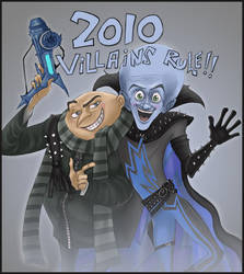 2010 super villains by Leen-galeas