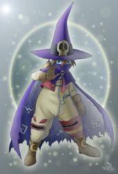 dazzling Wizardmon by Leen-galeas