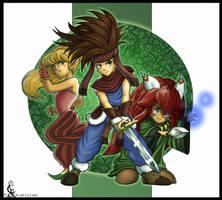 Mana heroes by Leen-galeas