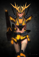 2012 08 GundamGirl Banshee / Normal by Haje714