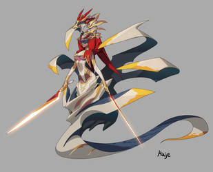 Snake Swordsman by Haje714