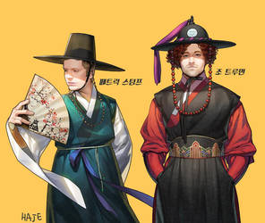 FOB Korea traditional dress by Haje714