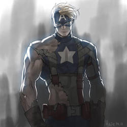 Captain America by Haje714