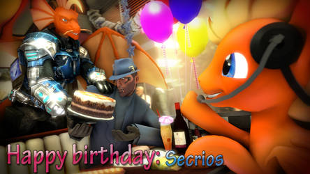 Happy Birthday Secrios by Dragon-V0942