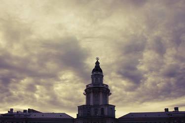 Purple sky by iheldthemoon