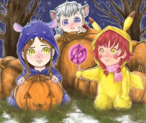 Happy Halloween , mates !! :D by noe-smart