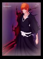 .: Ichigo partial Fullbring :. by Tsukineesan