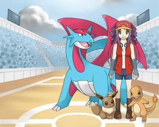 Pokemon Trainer Hikari by shintalight