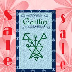 $2 Dragon Sigil Name Card Digital Copy Sale!! by lavendarskylight