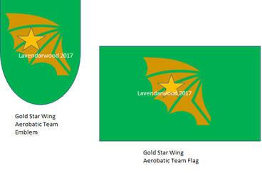 Gold Star Wing by lavendarskylight
