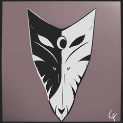 Kitsune Eclipse Mask by XCrossfangX