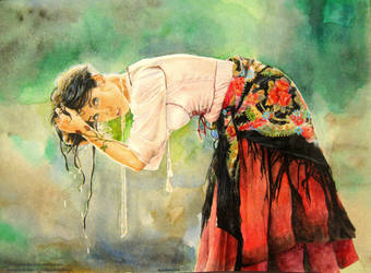 Lady Gypsy by kevinkosmo