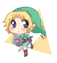 Chibi Link by PaperCyn