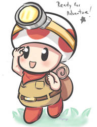Captain Toad by PaperCyn