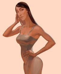 Modern Nefertiti by oakenvial
