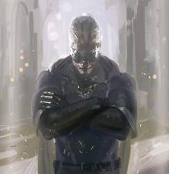 Dark Souls: Male Fire Keeper by oakenvial