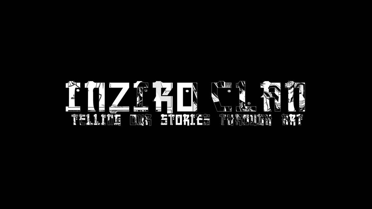 Inziro Clan Manga Text Concept Cover by Fakiezero