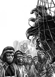 Planet Of the Apes by DiegoYapur