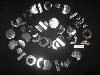 Metal Shapes Decor by Heartion
