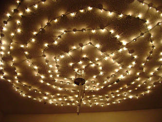 Ceiling knives and lights 2 by Heartion