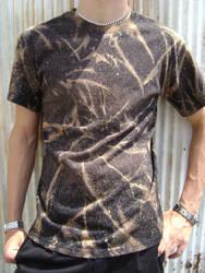 Acid splatter tye-dye shirt by Heartion
