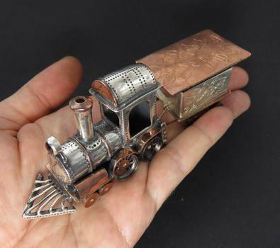Toy Train by GeshaR