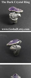 The Dark Crystal Ring with Mythic and Skeksis by GeshaR