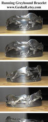 Greyhound Bracelet by GeshaR