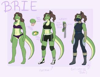 .:Ref:. Tmnt Brie by TRealFoxfur99